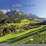 Alpen 2018 - The Alps - Broschürenkalender (30 x 60 geöffnet) - Landschaftskalender - Wandplaner