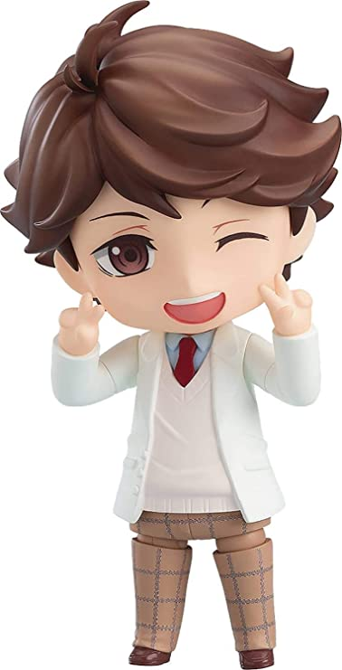 Nendoroid 563 Toru Oikawa Haikyuu! Orange Rouge Action Figure Figurine In Box