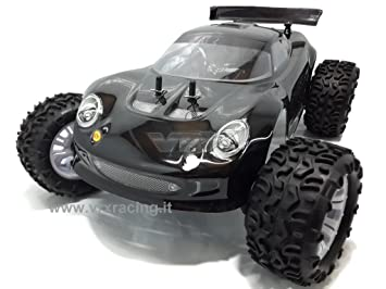 rangster 1/10 motor eléctrico RC-550 Turbo Speed Nuova Radio 2.4 GHz RTR 4 WD VRX: Amazon.es: Juguetes y juegos