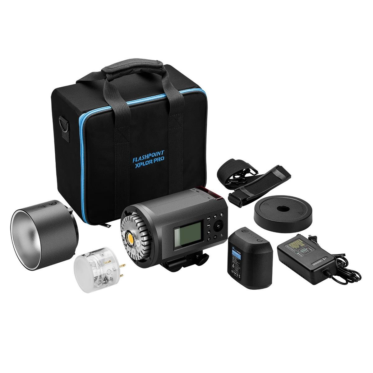 Flashpoint XPLOR 600PRO TTL Battery-Powered Monolight with Built-in R2 2.4GHz Radio Remote System R2 Pro Transmitter for Nikon (Bowens Mount) - Godox AD600 Pro by Flashpoint (Image #8)