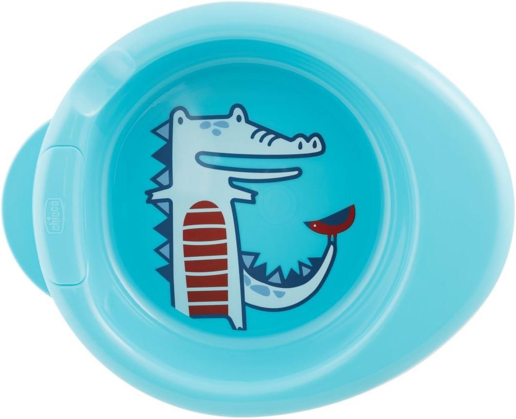 Chicco Warmy Plate - Plato termo 2 en 1, 6 m+, azul