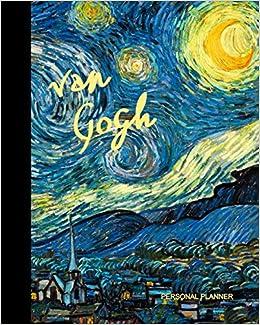 van gogh taccuino la notte stellata vincent van gogh elegante e pratico diario 100 pagine a righe taccuino libretto italian edition