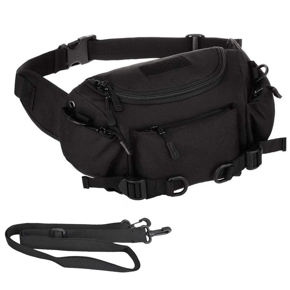Men Waterproof 1000d Nylon Waist Fanny Pack Tactical Military Sport Army Bag Hiking Fishing Hunting Camping Travel Hip Bum Belt 2019 New Fashion Style Online Fine Jewelry
