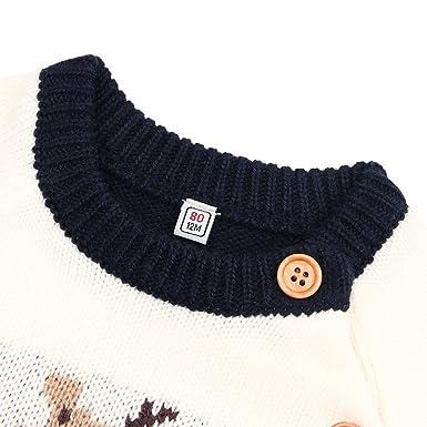 d2a3200f5 Amazon.com  Taiycyxgan Baby Boys Girls Ugly Christmas Sweater ...