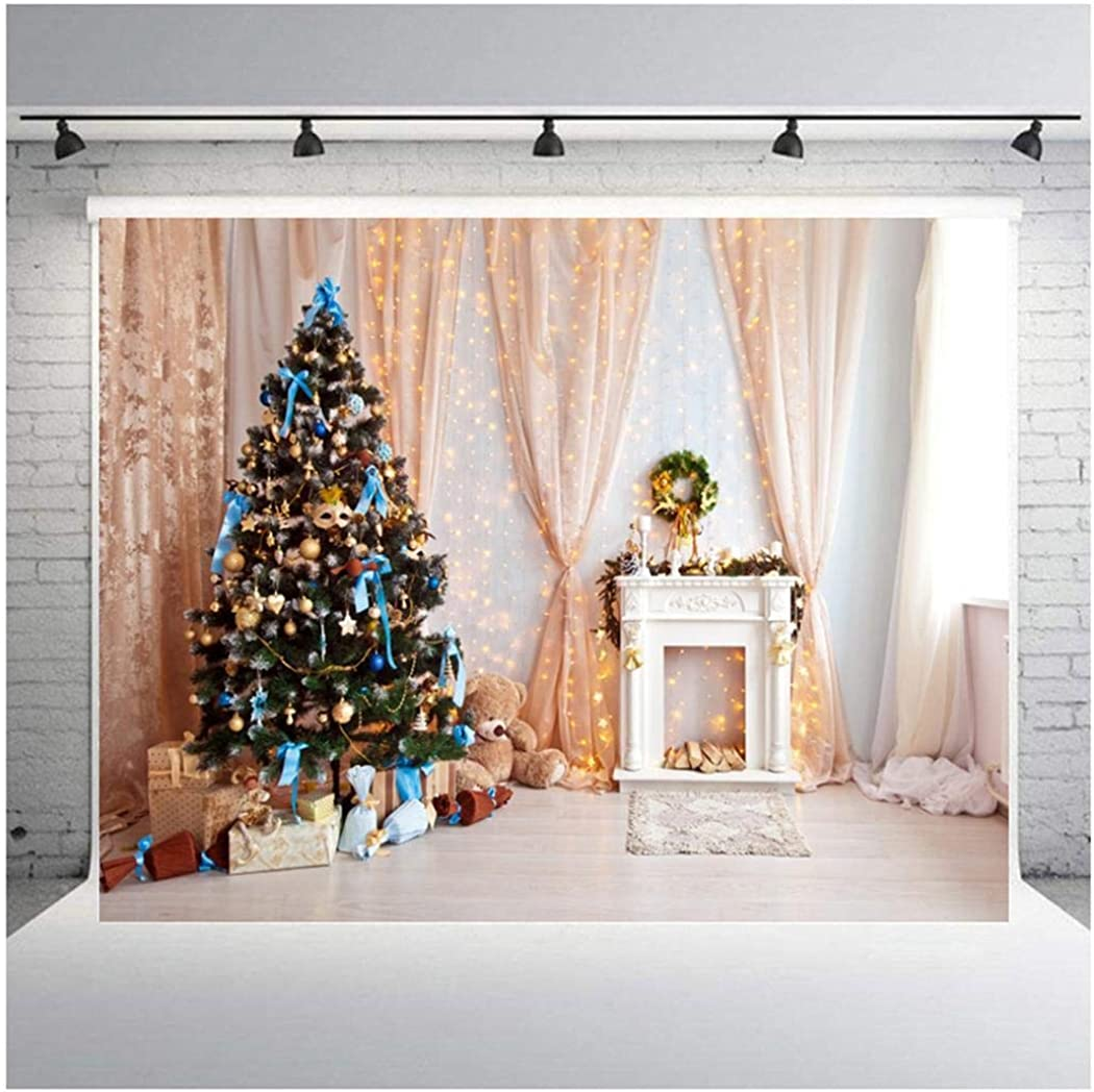 Zixed Portable Print Photography Background for Christmas Style Collapsible For Shooting Party