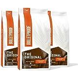 The Original Whole Bean Coffee, Medium Roast, 3 Pack - 12 Oz, Bulletproof Keto 100% Arabica Coffee, Certified Clean Coffee, R