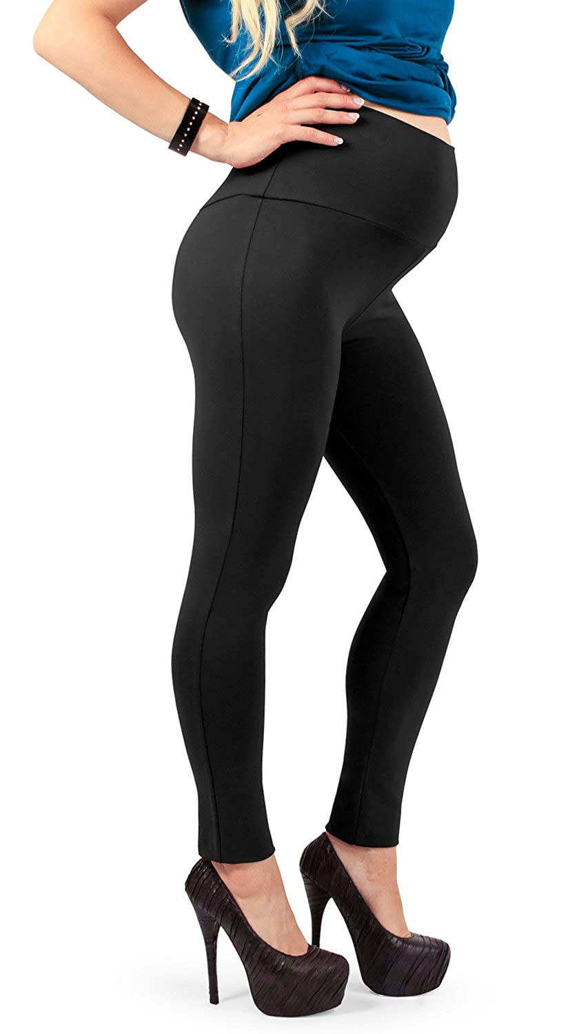 Made in Italy MAMAJEANS Legging Grossesse Taille Haute