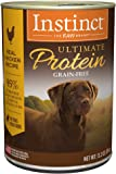 Instinct Ultimate Protein Grain Free Recipe Natural Wet Dog Food & Toppers by Nature's Variety