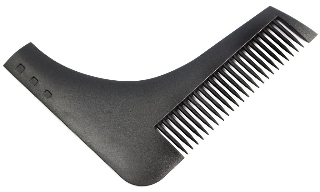 The Beard Shaper Facial Hair Shaping Tool Sex Man Gentleman Beard Trim Template Hair cut molding Black Beard Shaping Comb