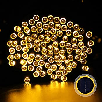 LUCKLED Solar Powered Outdoor String Lights