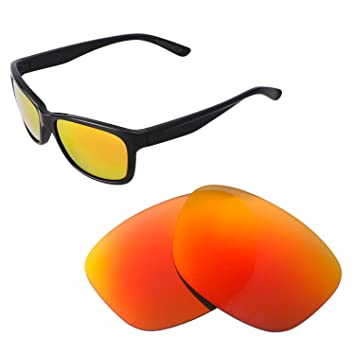 3f7ec7e810f Walleva Replacement Lenses for Oakley Forehand Sunglasses - Multiple  Options Available (Fire Red - Polarized)  Amazon.ca  Sports   Outdoors