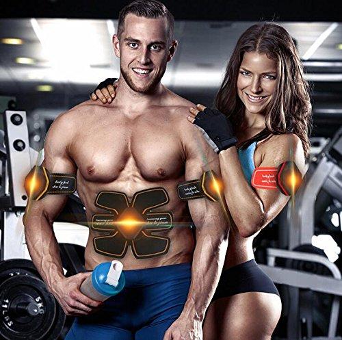TTYY Strumento addominale di addestramento del muscolo Strumento addominale di muscolo del muscolo per gli uomini e le donne Strumento di addestramento muscolare professionale di EMS