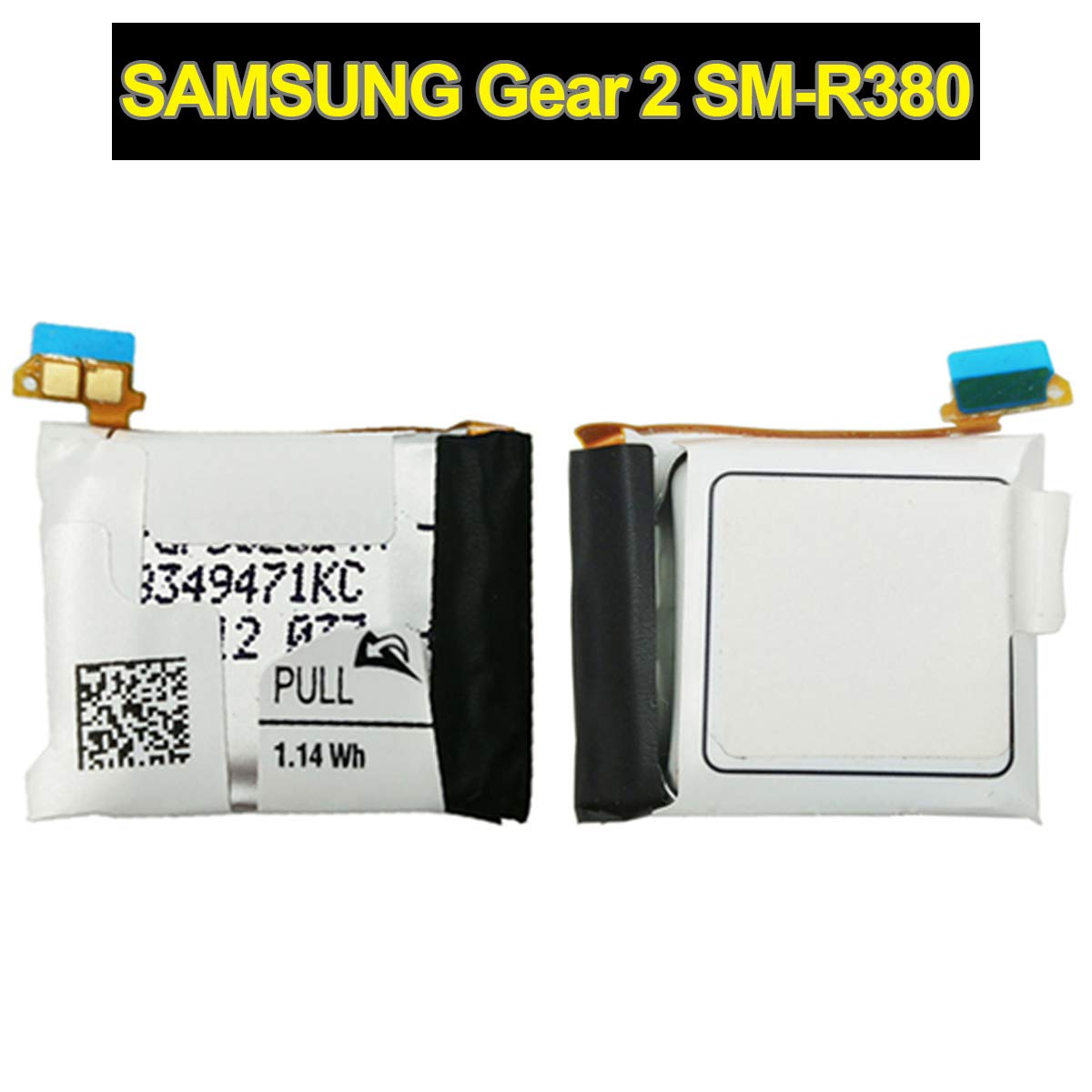 E-yiiviil Compatible with SM-R380 Smart watch battery Replacement Samsung Galaxy Gear 2 Gear 2 Neo SM-R380 SM-R381