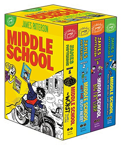 Middle School Box James Patterson
