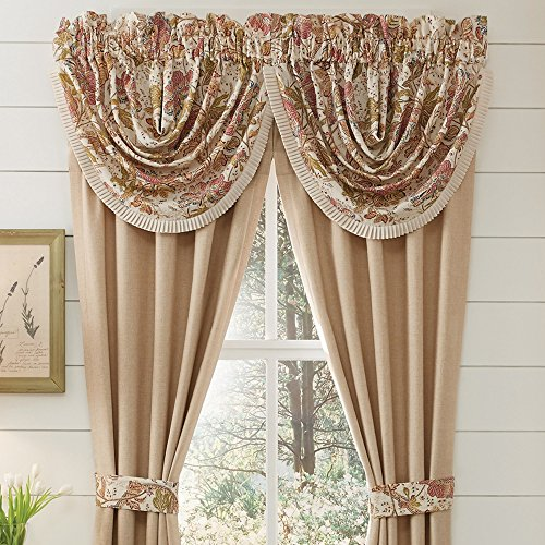 Croscill Camille Waterfall Swag 48X33 (Croscill Bedding Window)