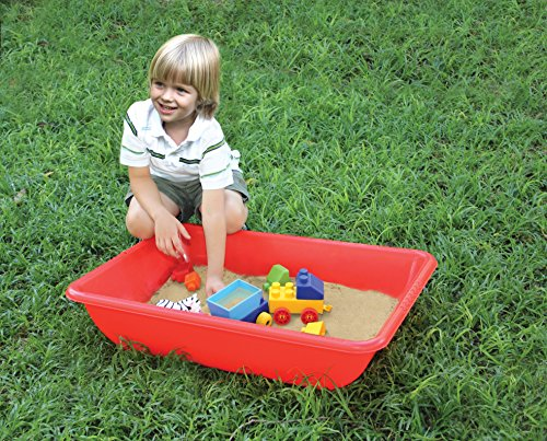- Edushape Water and Sand Play Indoor / Outdoor Activity Tubs, Set of 4