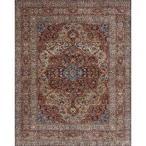 Loloi Porcia Collection Area Rug, 5 x 8 , Adobe Spice