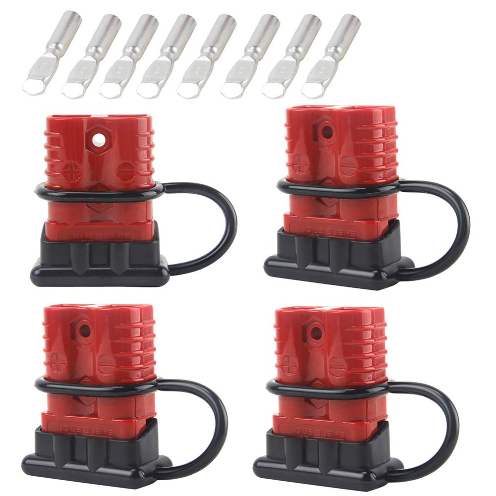 Mophoto Battery Quick Disconnect Connector Kit Connect Wire Harness Plug For Recovery