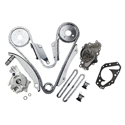 amazon moca engine timing chain kit oil water pump for 2000 08 Grand Prix Belt Diagram amazon moca engine timing chain kit oil water pump for 2000 2004 chrysler sebring concorde dodge stratus intrepid 2 7l v6 dohc u r