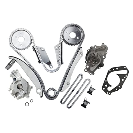 Amazon Com Moca Engine Timing Chain Kit Oil Water Pump For 2000