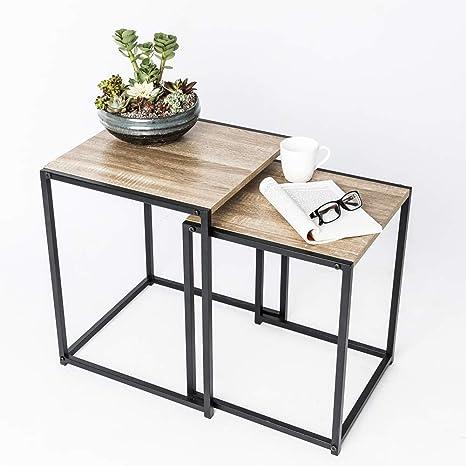 Amazon.com: C-Hopetree - Mesa de café, soporte de TV, estilo ...