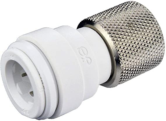 John Guest Speedfit PSE3201W 15 x 12,7 mm, 10 unidades Conector para grifos con rosca hembra