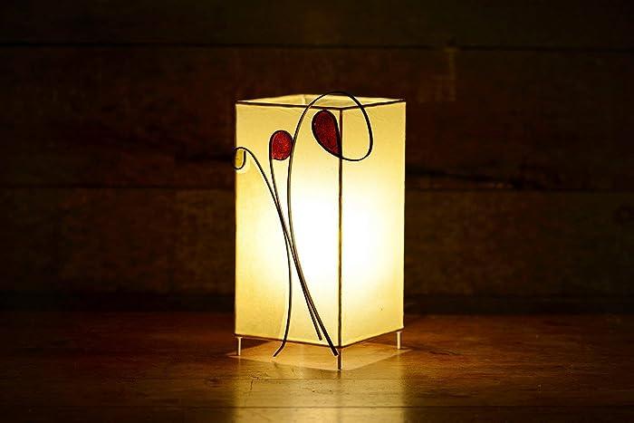 Lámpara de sobremesa decorativa original. Diseño artesanal ...