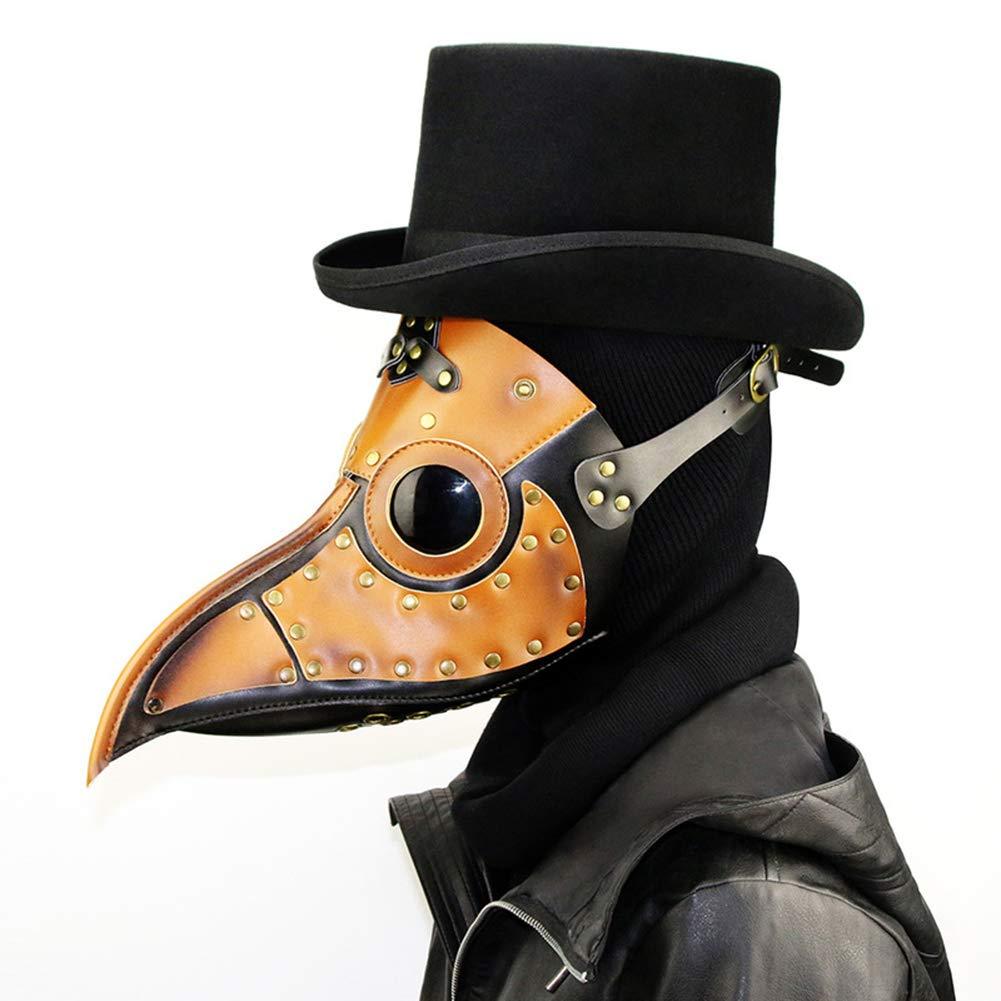 CLEAVE WAVES Steampunk Gothic Retro Pest Schnabel Arzt Vogel Maske Halloween Weihnachten Kostüm Requisiten