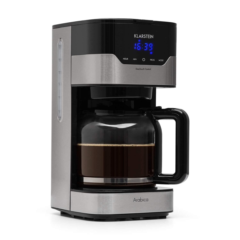 Klarstein Cafetera Eléctrica Arabica con filtro • filtro de café ...
