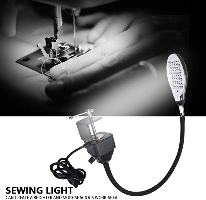 Lámpara LED para máquina de Coser, 8W 3 Niveles de atenuación ...