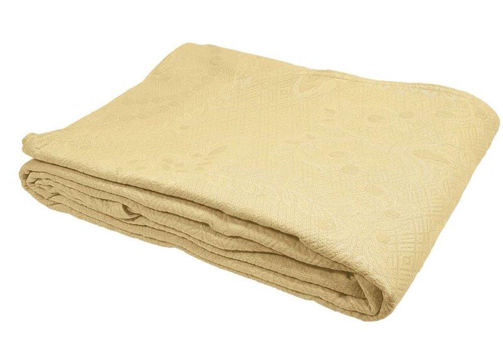 Yellow Full Bedspread 96  x 110  Europa Fine Linens Kensington pink Matelasse Bedspread, King, White