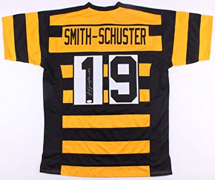 f4a8fbafa5f Juju Smith-Schuster Autographed Signed Pittsburgh Steelers Throwback Bumble  Bee Jersey - JSA Certified