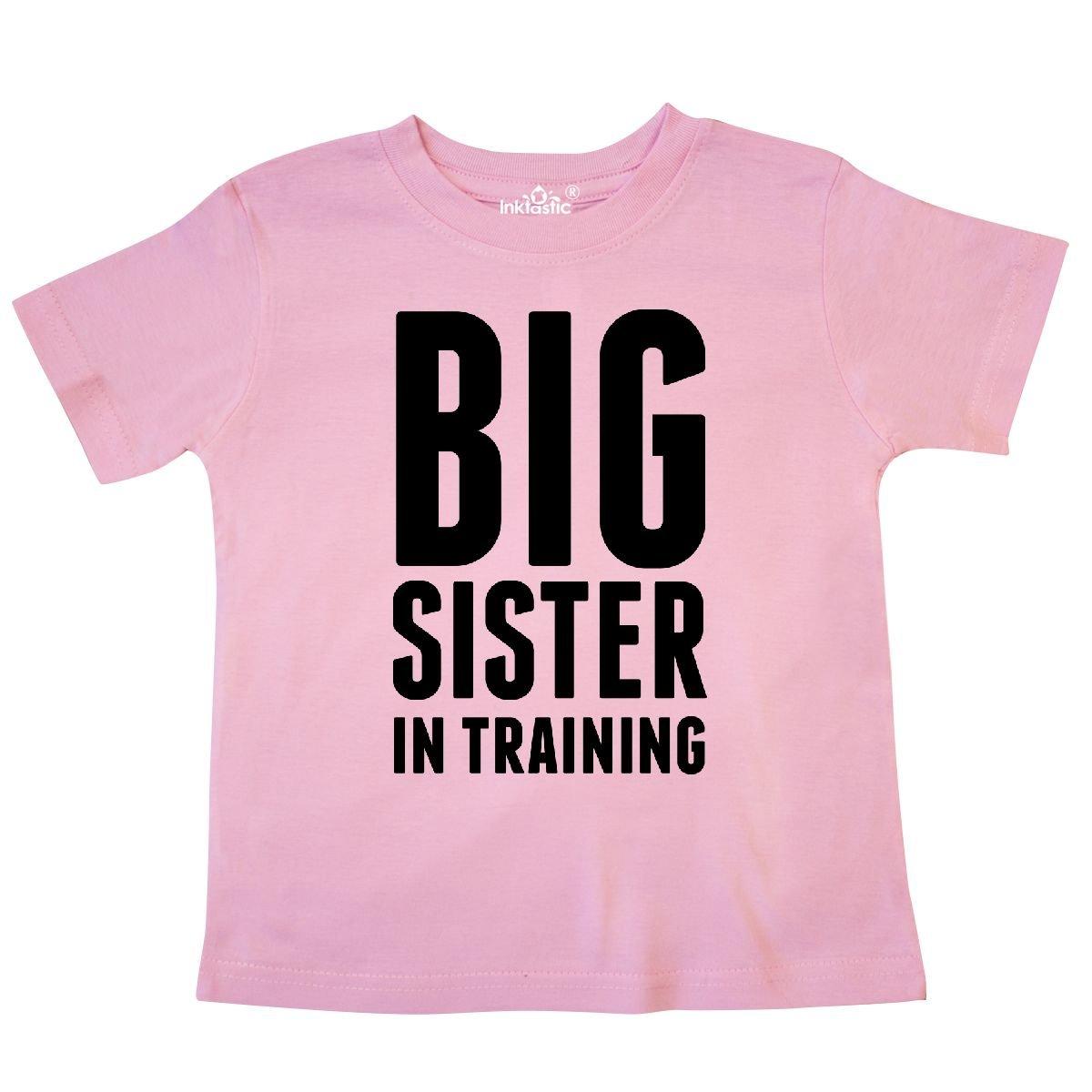 Older Sister in Training Toddler T-Shirt 276b1 inktastic