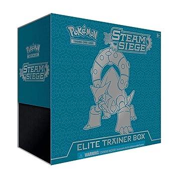 Pokémon 14008 XY #11 Steam Siege Elite Trainer Box - Juego ...