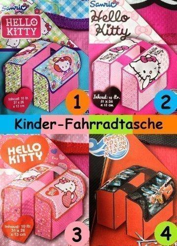 Hello Kitty Cars Kinder Fahrrad Satteltasche Gepäckträger Tasche Fahrradtasche Nr 2