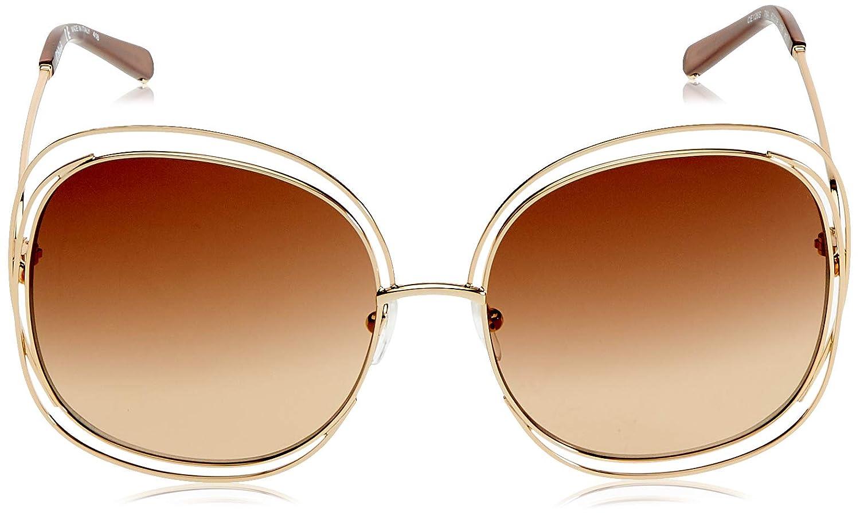 Sunglasses CHLOE CE126S 784 ROSE GOLD/TRANSPARENT BROWN