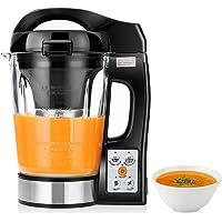 Chauffant à Soupe en Verre, 250W, CookJoy Machine à Soupe Multifonction, Transparent