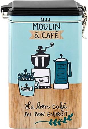 Derrière La Porte DLP - Caja de almacenamiento hermética para café, diseño de Délices: Amazon.es: Hogar