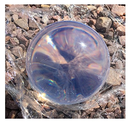 Clear Acrylic Contact Juggling Ball - 76mm