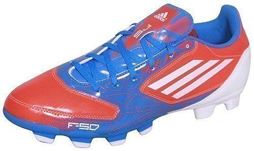 best service 4d52b 7c3e0 Adidas F5 TRX FG - Botas de fútbol para hombre azul rosa, color, talla 40   Amazon.es  Zapatos y complementos
