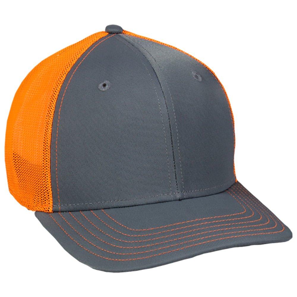 OutDoorCap HAT メンズ B071L6MTWJ Medium / Large|Graphite/Neon Orange Graphite/Neon Orange Medium / Large