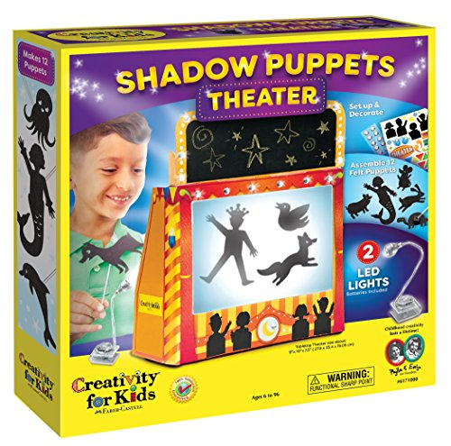 Creativity for Kids Shadow Puppets Theater (Puppet Kit Finger)