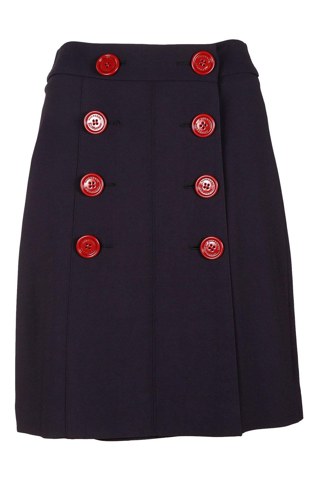 Burberry Women's Skirt Mini Short Blu US Size 4 (US 2) 40563071