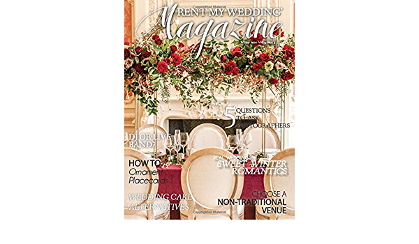 RENT MY WEDDING Magazine - Winter 2020: Amazon.es: Kubin ...