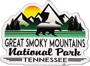 """Great Smoky Mountains National Park Vinyl Decal Sticker Tennessee Laptop Bumper Luggage 4"""" x 3"""""""