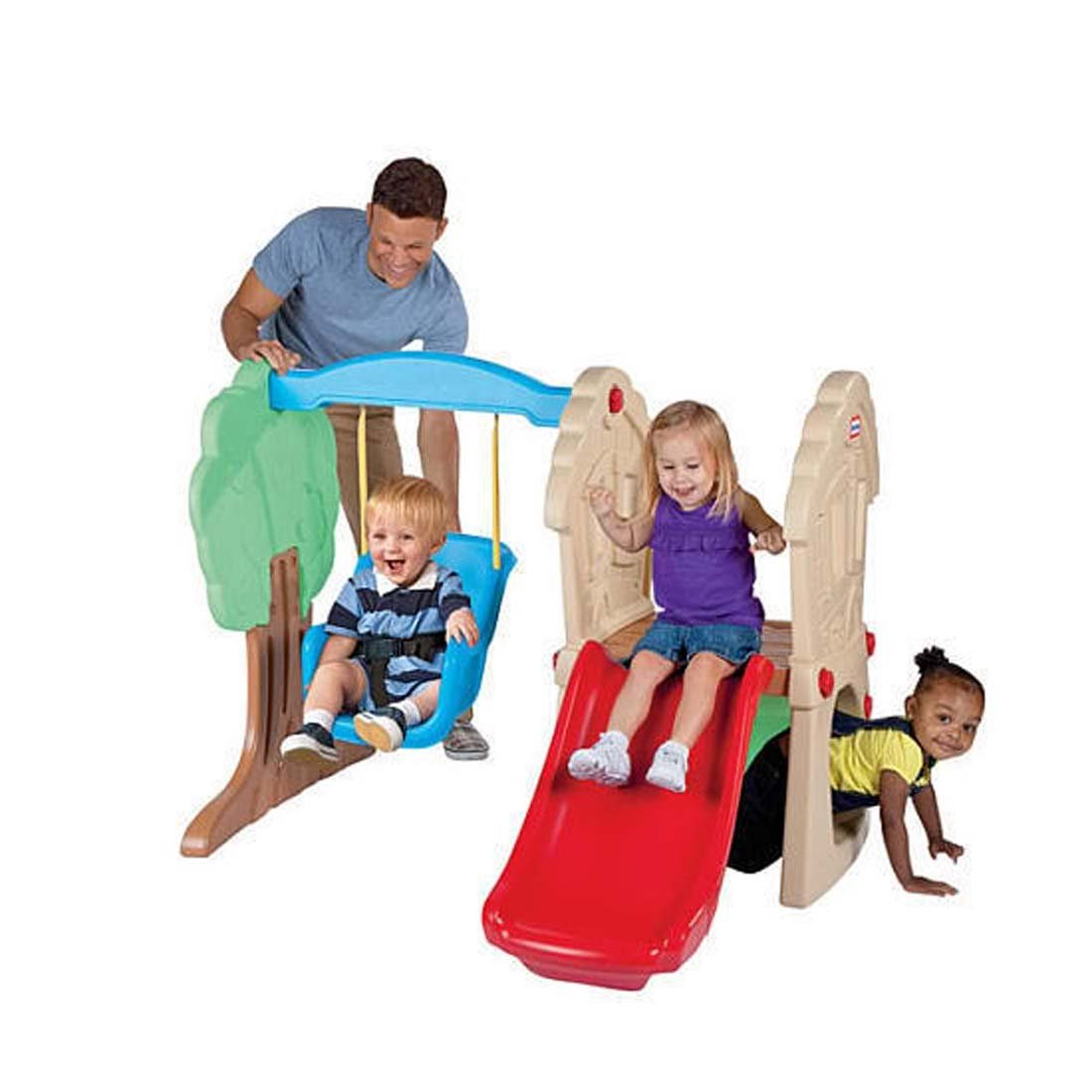 Hide and Seek Climber and Swing : 40.700in X 27.200in X 19.600 in