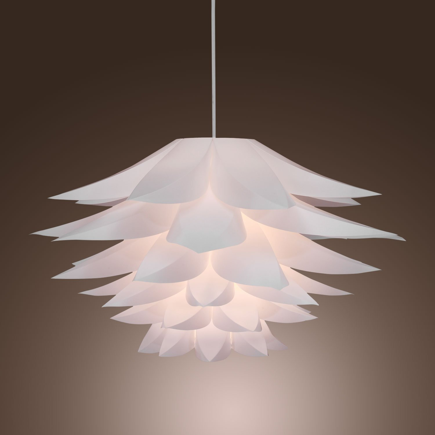 lightinthebox w floral pendant light in petal featured shade  - lightinthebox w floral pendant light in petal featured shade modernceiling light fixture for game room dining room bedroom  ceiling pendantfixtures