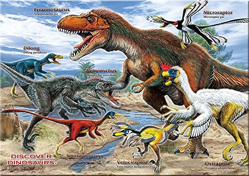 羽毛恐竜 B5サイズ 330ピース ミュージアム ジグソーパズル