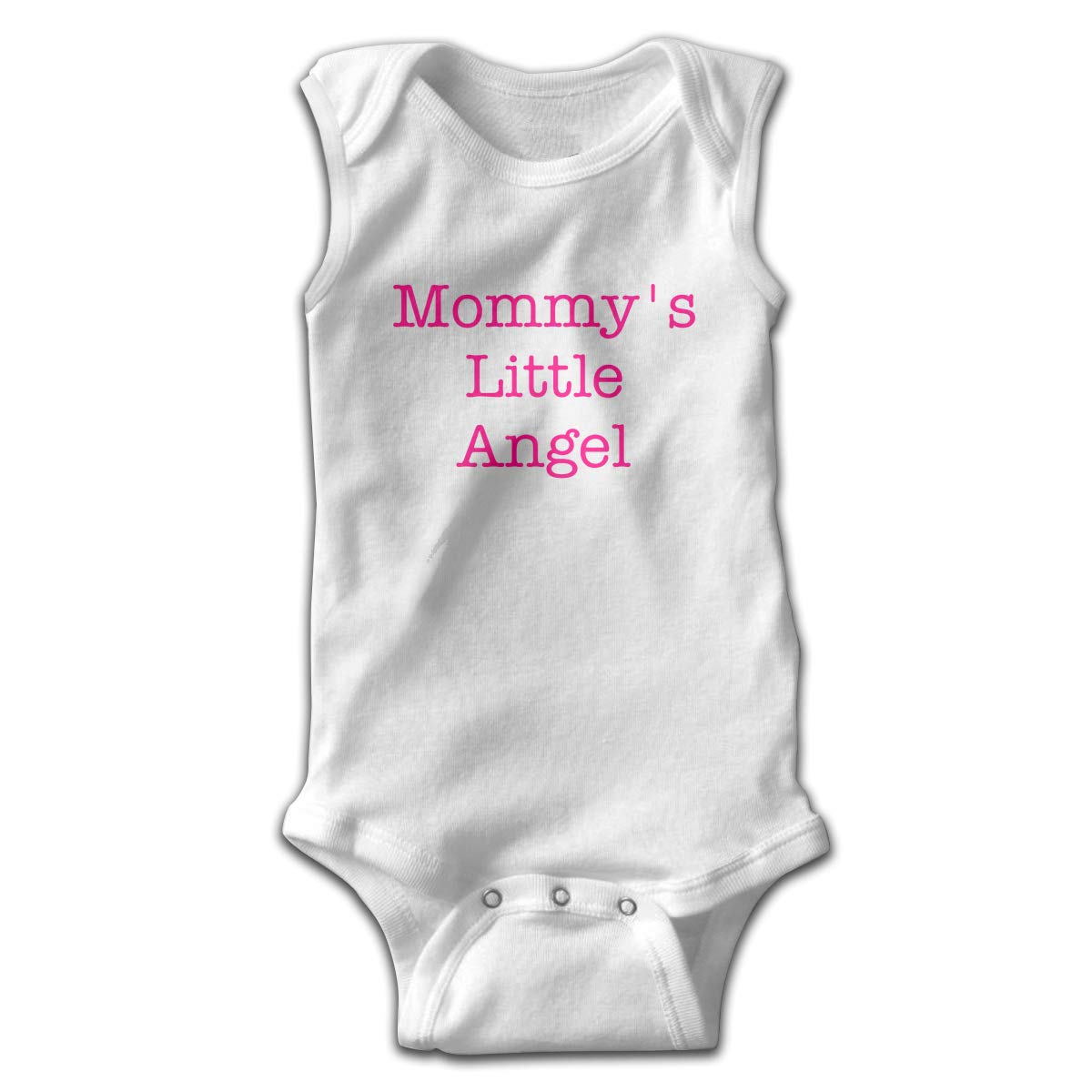 Mommys Little Angel Infant Baby Clothes Romper Sleeveless Summer Novelty Funny Gift for Baby