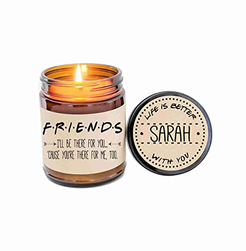 Amazoncom Best Friend Gift Friends Tv Show Soy Candle Gift For